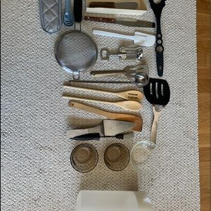 Other - Kitchen utensils and electric can opener